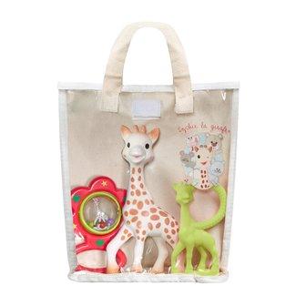 Sophie de Giraffe Sophie de Giraffe - Cadeautas voor Newborn - 0+M - 3 delig