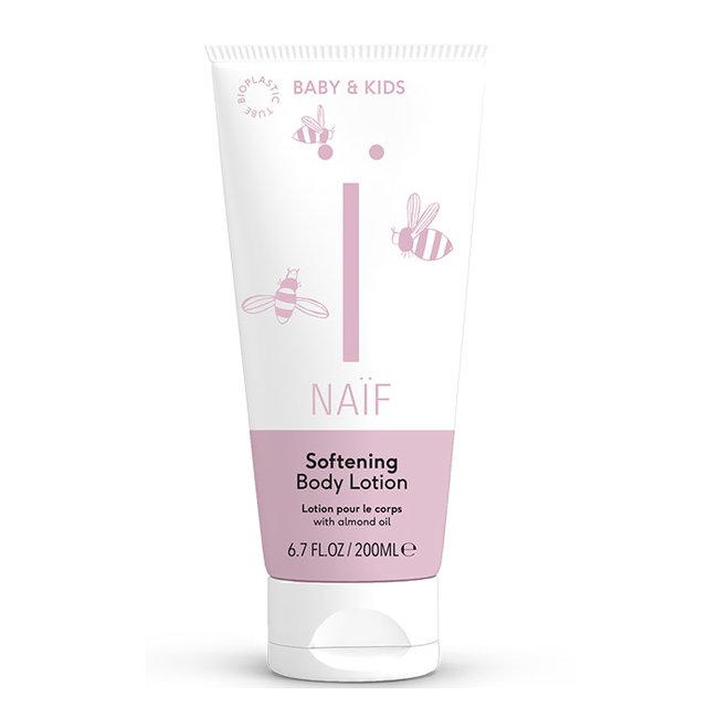 Naïf Care - Softening Bodylotion - 200 ml - Met natuurlijke katoenzaad olie