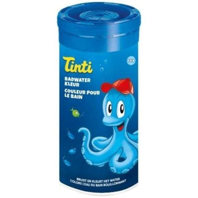 Tinti Tinti - Badwater  Kleurtabletten Blauw - 10 tabletten