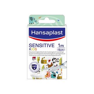 Hansaplast Hansaplast - Sensitive Kids Pleisters - 1M x 6CM