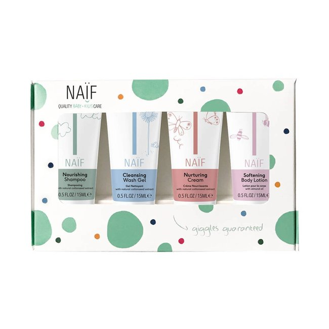 Naif - Giftset Mini - 4 stuks