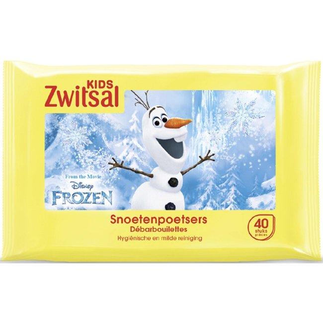 Zwitsal Kids Frozen Snoetenpoetsers - 40 Monddoekjes