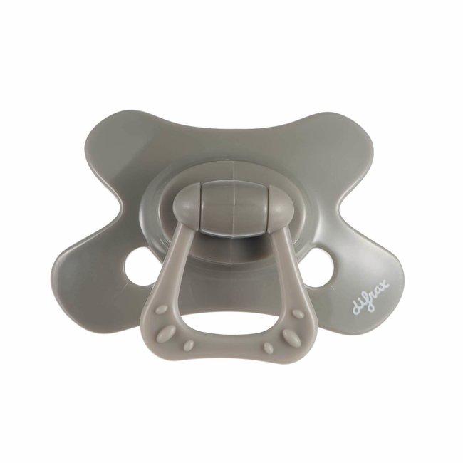 Difrax Fopspeen - Natural & Pure - 6+ Maanden - Clay