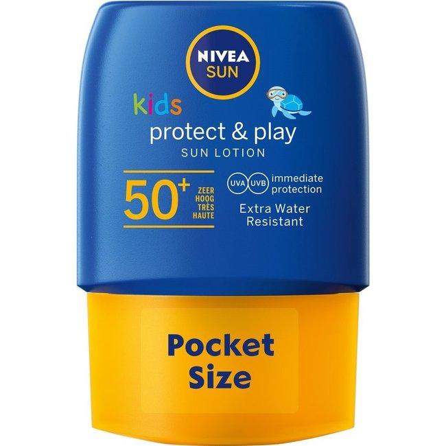 Nivea Sun Kids - Protect & Play Lotion - SPF50+ - 50ml