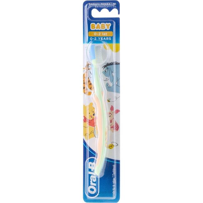 Oral B Oral-B - Tandenborstel Winnie the Pooh - Stages 1 - 0/2 jaar - Groen