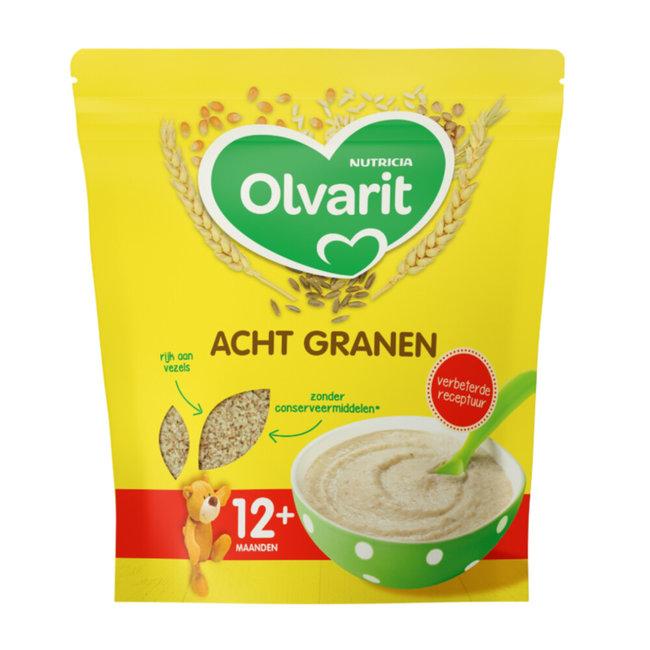 Olvarit - Acht Granen - 12+M - 200gr