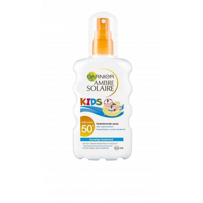 Garnier Ambre Solaire - Kids Zonnebrand Spray - 200 ml - SPF 50+