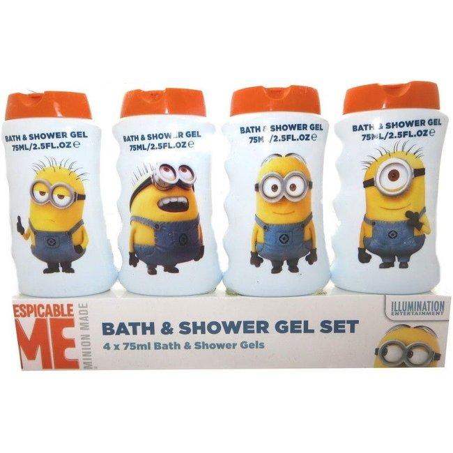 Disney - Minions Bath & Showergel - Travelset - 4 x 75ml