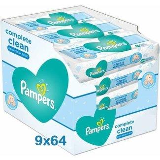 Pampers Pampers Complete Clean Billendoekjes - 576 Babydoekjes