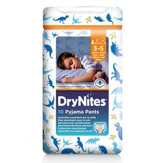 Huggies DryNites - Absorberende Luierbroekjes Boy - 3/5 jaar - 10 stuks