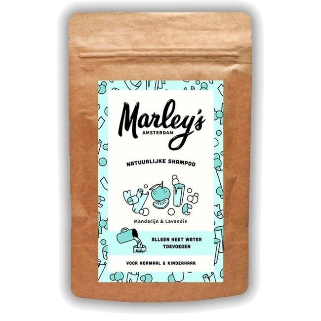 Marley's Amsterdam Marley's Amsterdam - Natuurlijke Shampoo - Mandarijn & Lavendel - 50 gram
