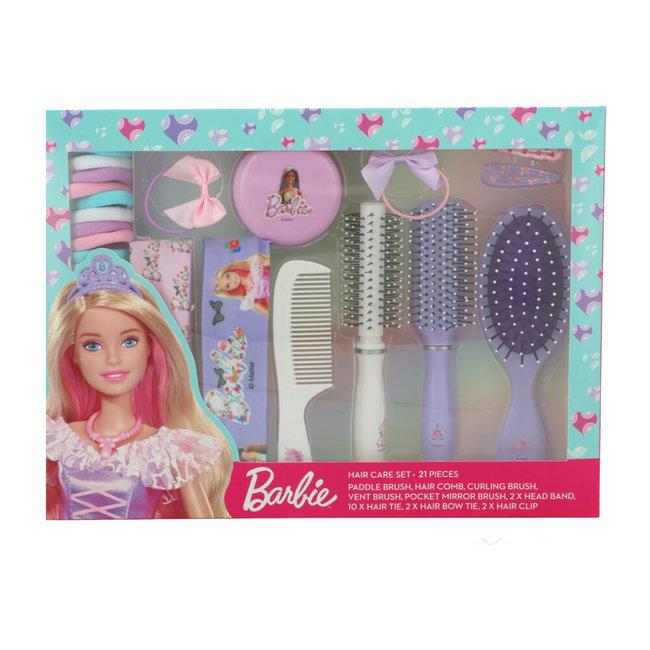 Sence - Barbie Geschenkset Haarborstelset - 21-delig