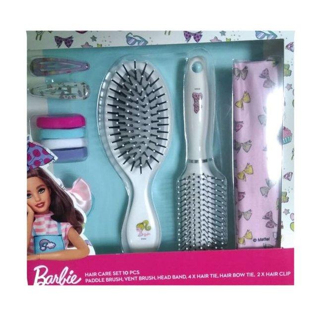 Sence - Barbie Geschenkset Haarborstelset - 10-delig