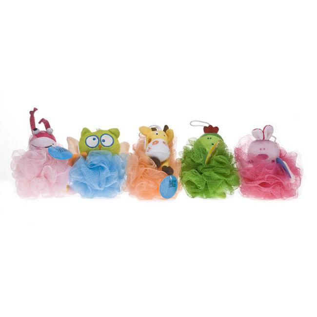 Tub N Scrub Tub N Scrub - Badspons - met Dierlijke Figuren