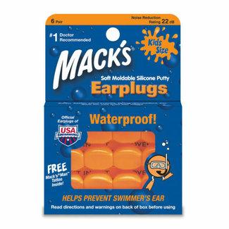 Mack's Mack's - Siliconen Earplugs Kids - 6 paar