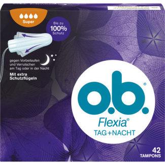 O.B. O.B. - Tampons Super Flexia Dag + Nacht - 42 Tampons