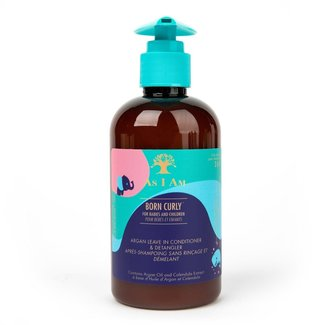 As I Am As I Am - Born Curly - Argan Leave in Conditioner & Detangler - 240ml