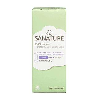 Sanature Sanature - Inlegkruisjes Super Extra Lang - 100% Katoen - 20 stuks