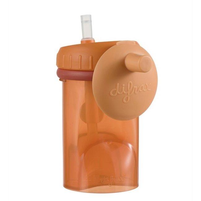 Difrax Difrax - Rietjesbeker antilek - 250 ml - Orange