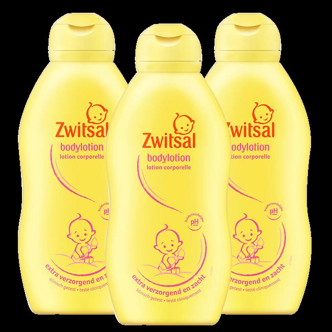 Zwitsal - Bodylotion - 3 x 400ml