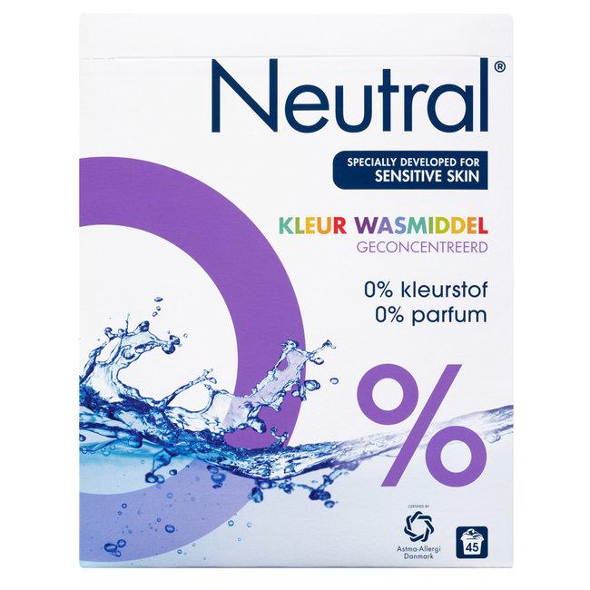 Neutral - Waspoeder Color - 3 kg - 45 wasbeurten