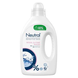 Neutral Neutral - Vloeibaar Wasmiddel - Fijnwas - 1 liter - 20 wasbeurten