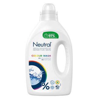 Neutral Neutral - Vloeibaar Wasmiddel Color - 1 liter - 20 wasbeurten
