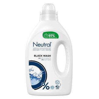 Neutral Neutral - Vloeibaar Wasmiddel Zwart - 1 liter - 20 wasbeurten
