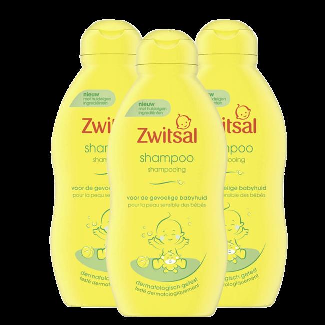 Zwitsal - Shampoo - 3 x 200 ml - Voordeelpack