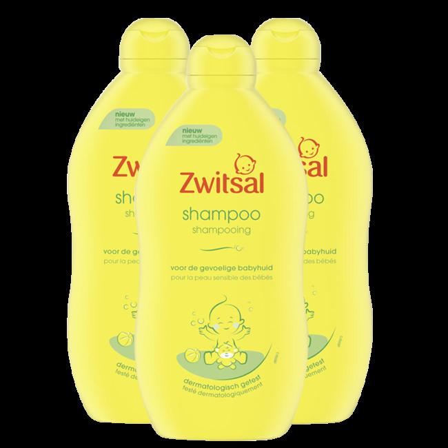 Zwitsal - Shampoo - 3 x 700 ml - Voordeelpack