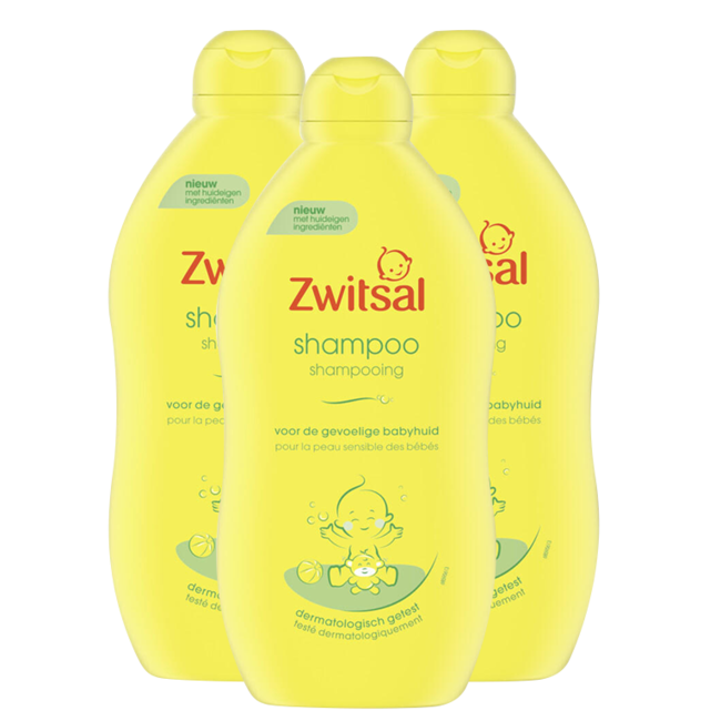Zwitsal Zwitsal - Shampoo - 3 x 700 ml - Voordeelpack
