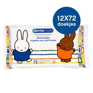 Dermo Care Dermo Care - Nijntje - Billendoekjes - 12 x 72 babydoekjes
