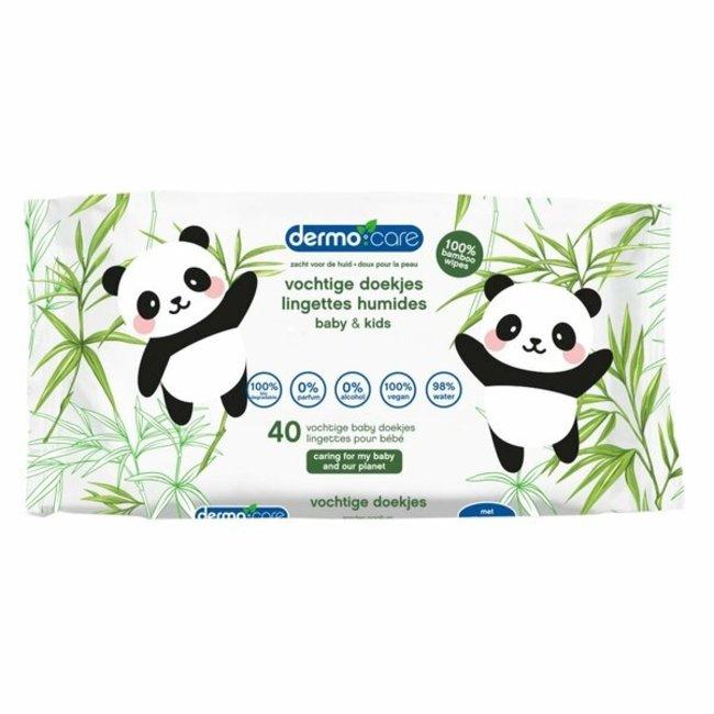 Dermo Care Dermo Care - Bamboo - Snoetenpoetsers - 1 x 40 stuks