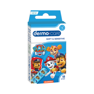 Dermo Care Dermo Care - Paw Patrol - Soft & Sensitive - Pleisters - 18 stuks