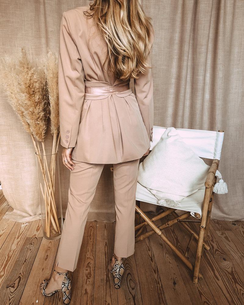 Powder Pink Suit (Jacket)
