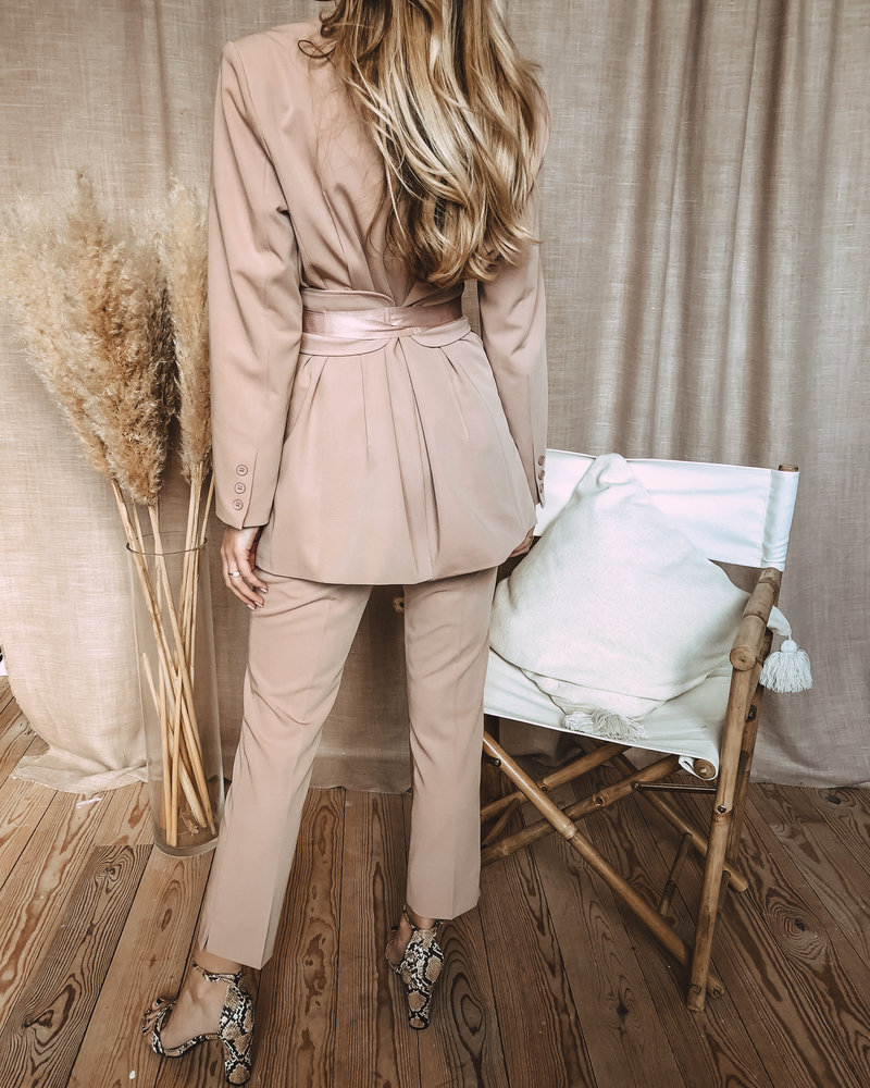 Powder Pink Suit (Trouser)