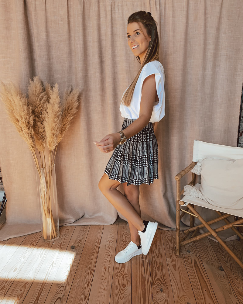 Black & White Summer skirt