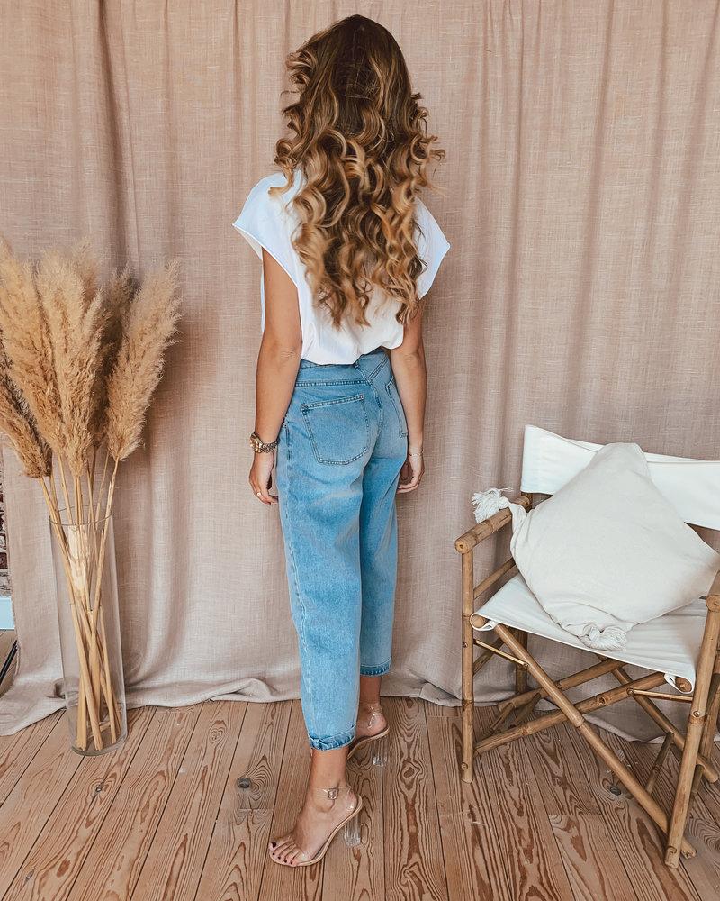 Baggy Blue Jeans