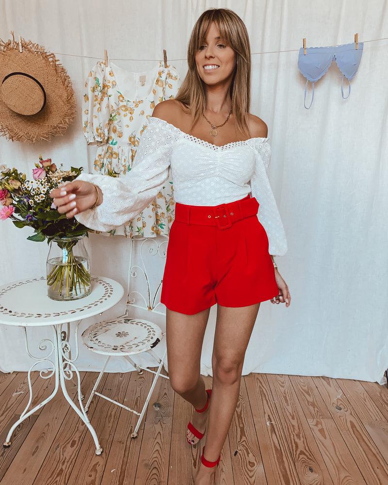 Red Belt Short