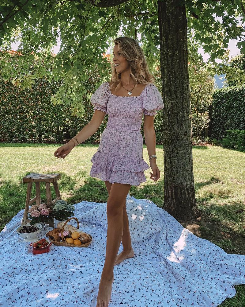 Lila Aurelie Summer Crop Top