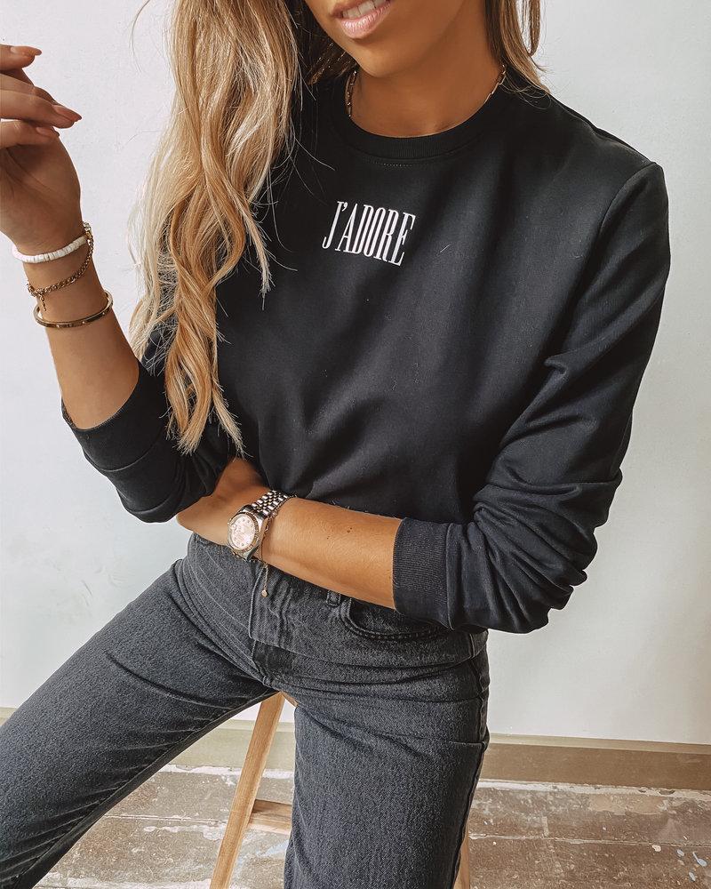 J'Adior Sweater BLACK