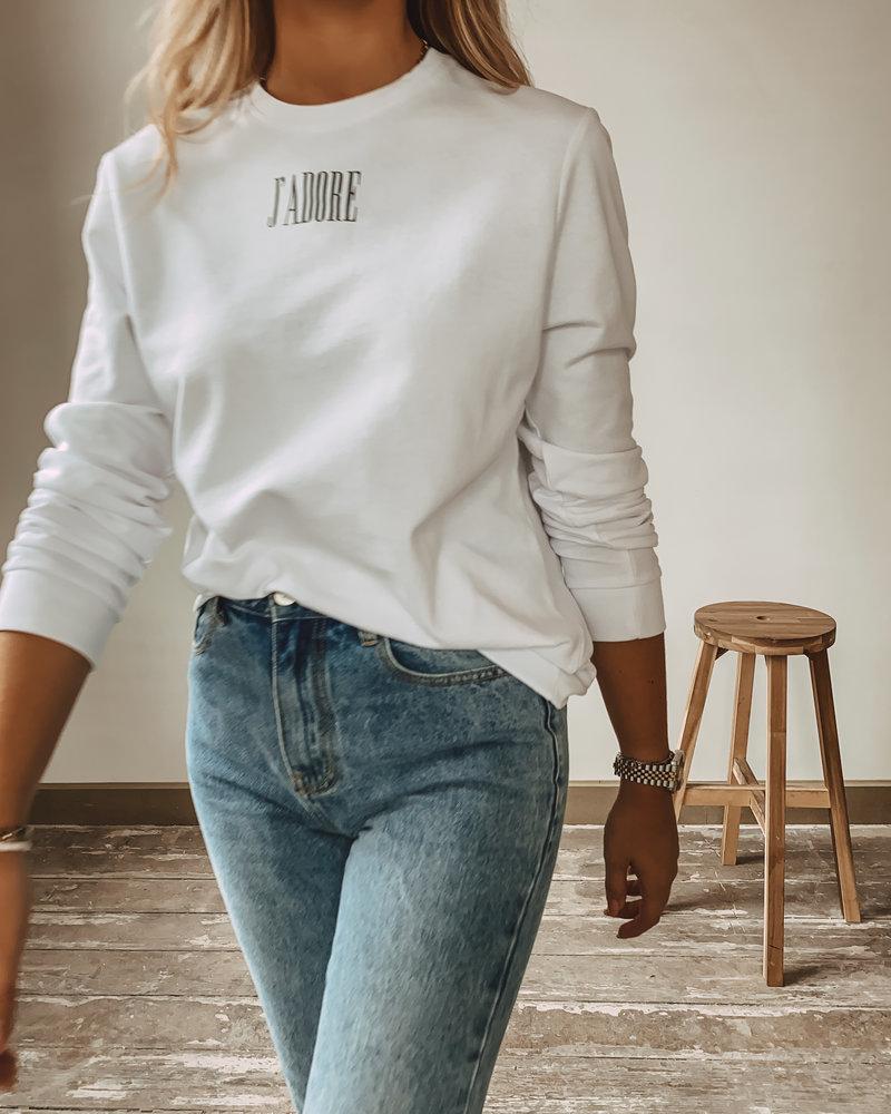 J'Adior Sweater WHITE