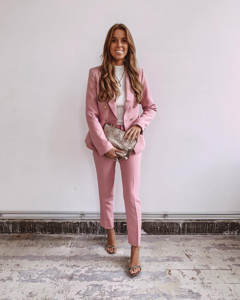Pink Balmain Blazer