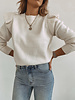 Flair Shoulder Sweater