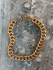 Big Golden Chian Necklace
