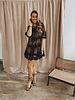 Black Perfect Summer Lace Dress