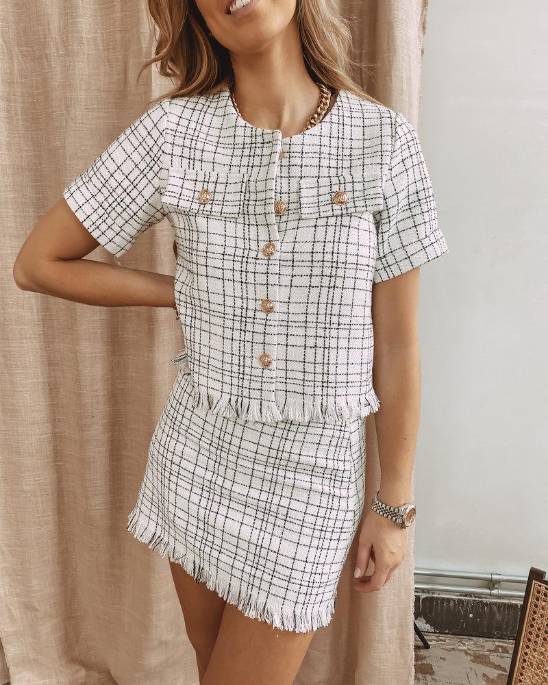 Chanel Inspired Summer Short Jacket