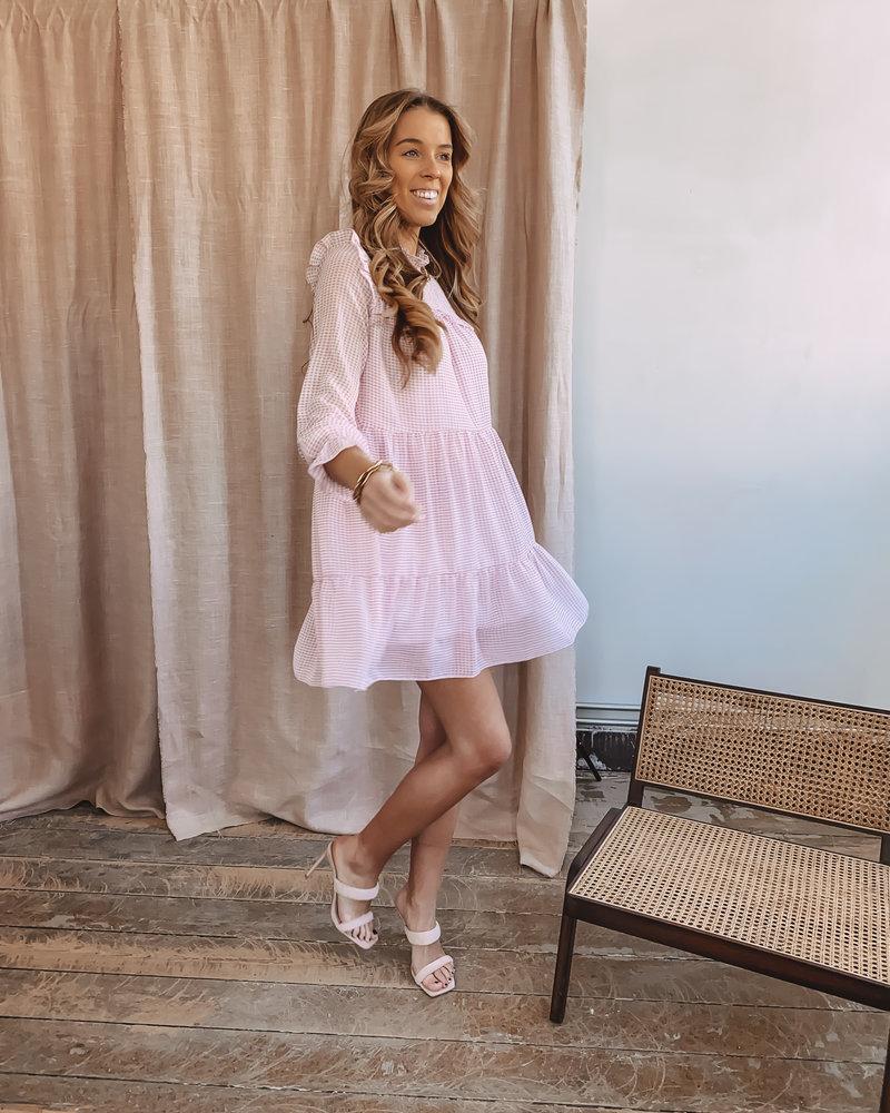 Soft Pink Vichy Dress