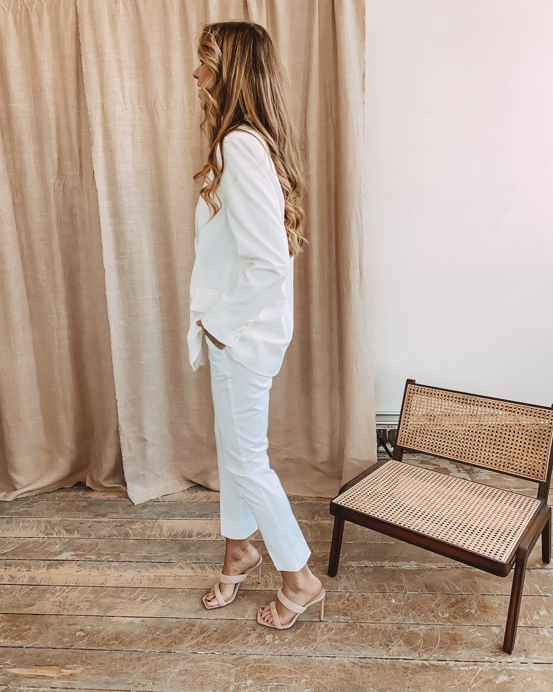 Classic White Trouser