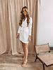 White Classic Blazer Dress